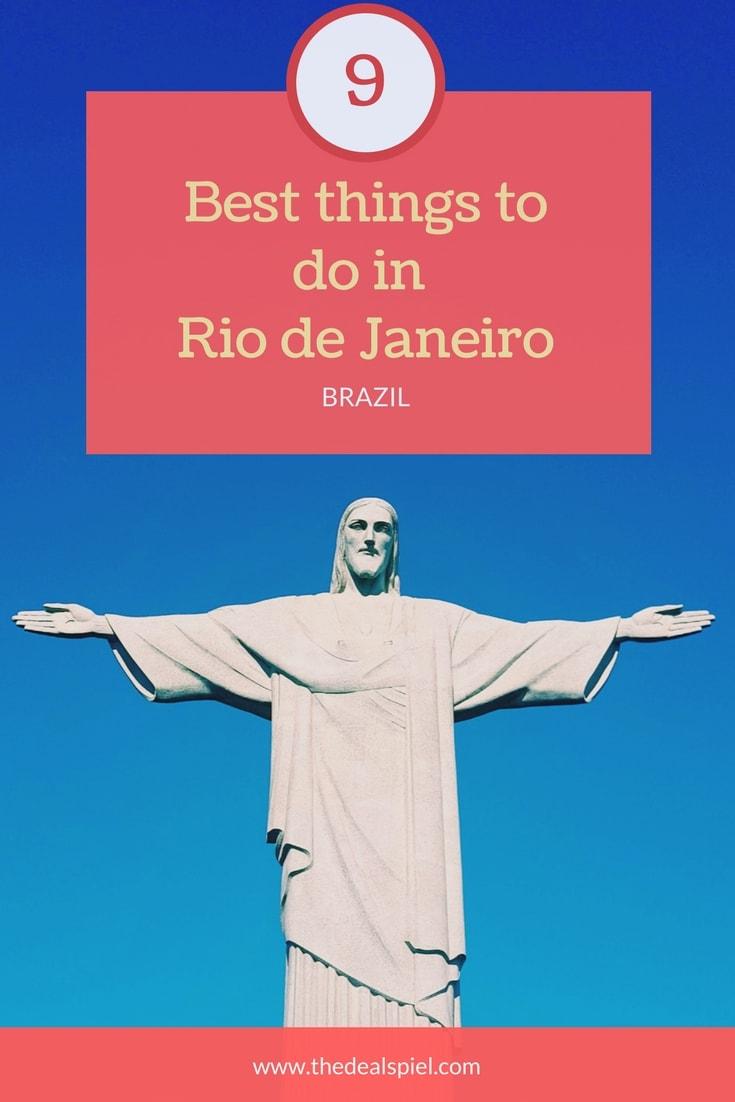 9 BEST THINGS TO DO IN RIO DE JANEIRO