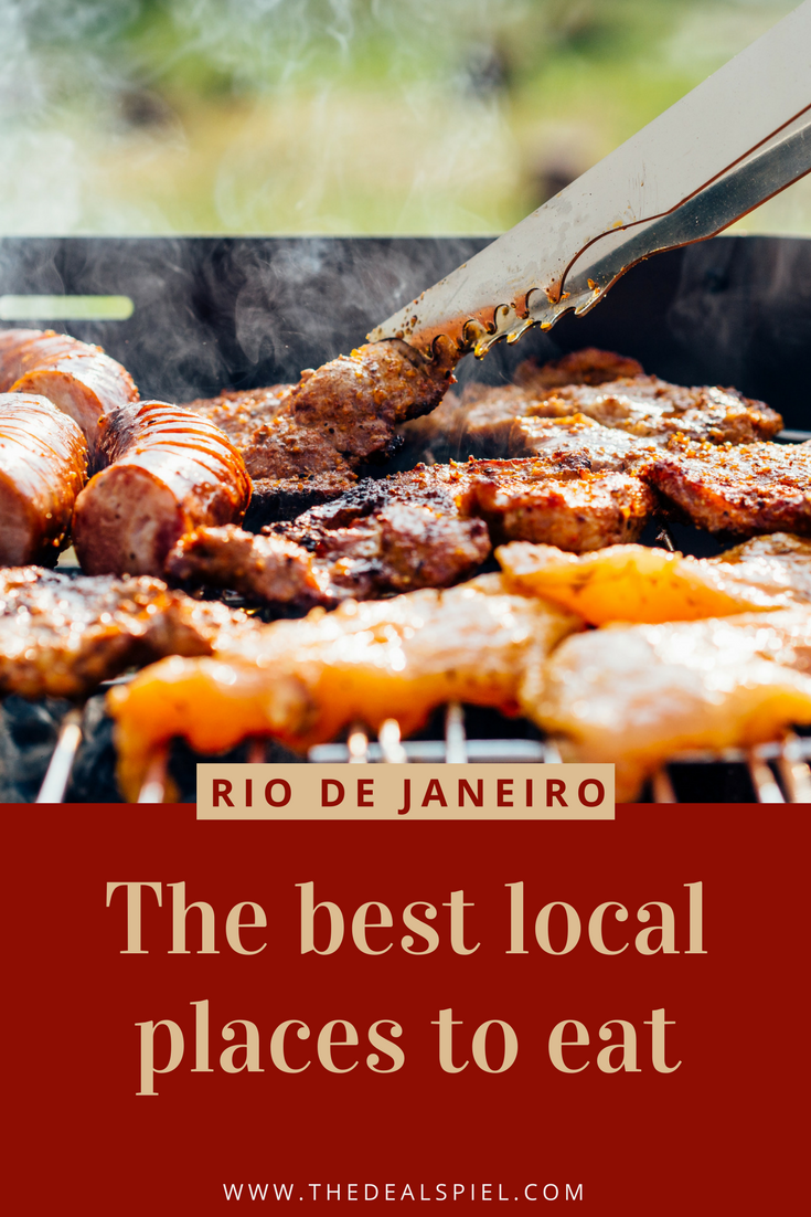 The best local places to eat in Rio de Janeiro