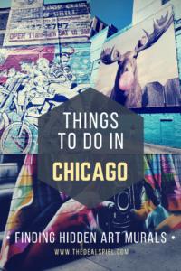 THINGS TO DO IN CHICAGO FINDING HIDDEN ART MURALS