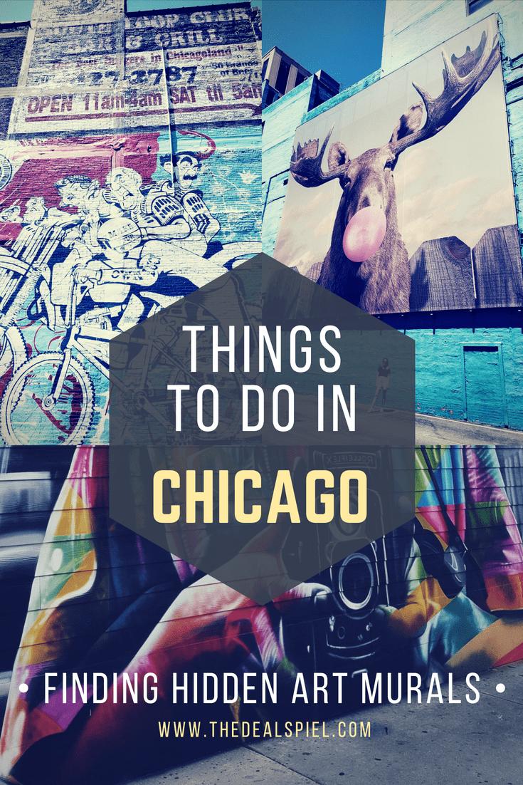 Things to do in Chicago – Finding hidden Art Murals